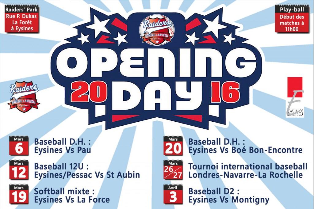 Tout savoir sur l'Opening Day(z) des Raiders !