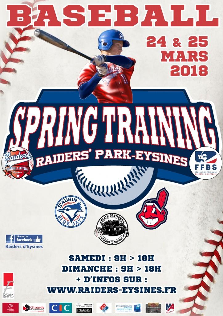 Affiche-Spring-Training-2018