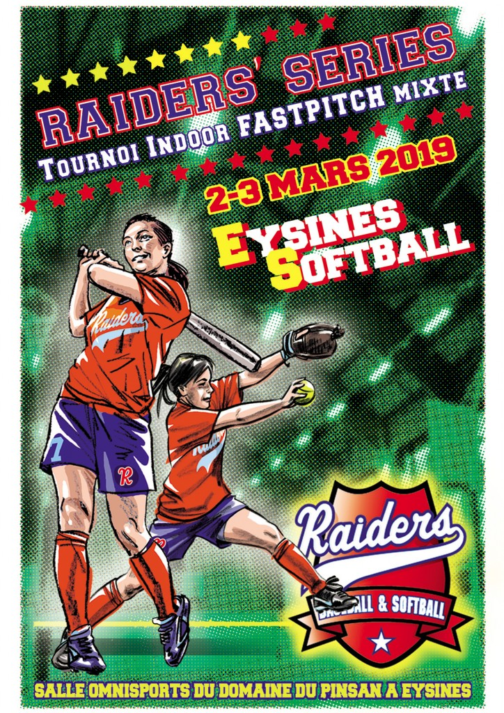 Affiche Raiders Series 2019