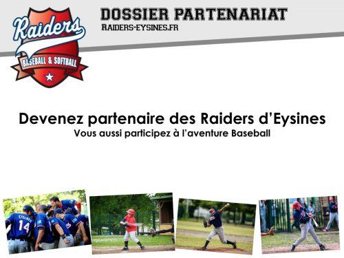 Dossier de partenariat des Raiders d'Eysines